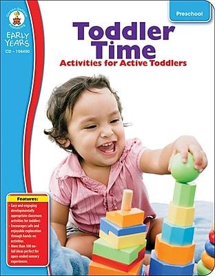 Carson-Dellosa Toddler Time Resource Book