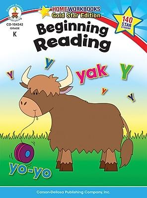 Carson-Dellosa Beginning Reading Resource Book, Grade K