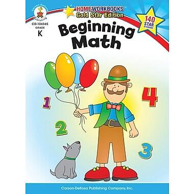 Carson-Dellosa Beginning Math Resource Book, Grade K
