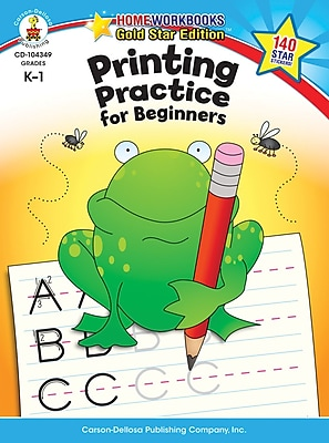 Carson-Dellosa Printing Practice for Beginners Resource Book