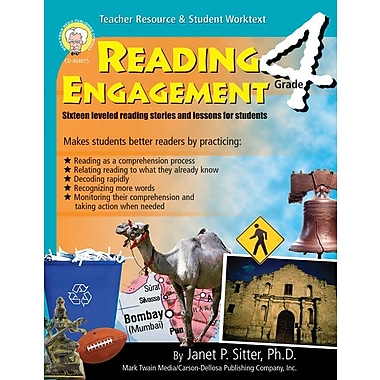 Mark Twain Reading Engagement Resource Book, Grade 4