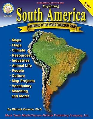 Mark Twain Exploring South America Resource Book, Grades 4 - 8+