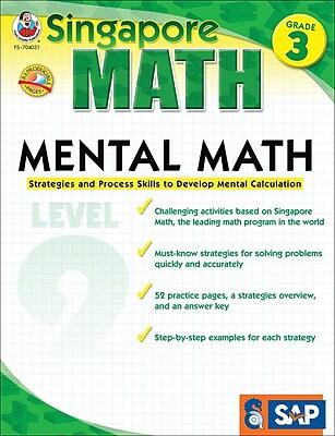 Frank Schaffer Mental Math Workbook, Grade 3/Level 2