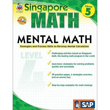 Frank Schaffer Mental Math Workbook, Grade 5/Level 4