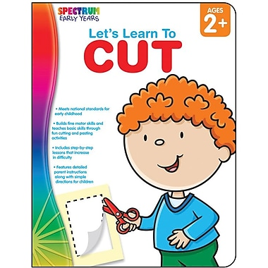 Spectrum Let's Learn To Cut Workbook
