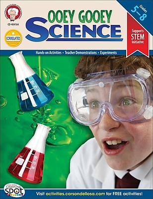 Mark Twain Ooey Gooey Science Resource Book