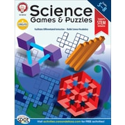 Science Games and Puzzles Resource Book, Grades 5 - 8