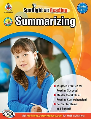 Frank Schaffer Summarizing Resource Book, Grades 3 - 4