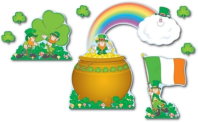 Carson-Dellosa St. Patrick's Day Bulletin Board Set