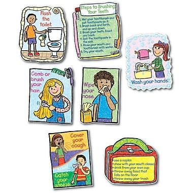 Carson-Dellosa Hygiene: Kid-Drawn Bulletin Board Set