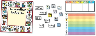 Carson-Dellosa Weather: Kid-Drawn Bulletin Board Set
