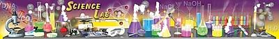 Mark Twain Science Lab Tools Topper Bulletin Board Set
