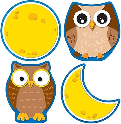 Carson-Dellosa Owls & Moons Cut-Outs