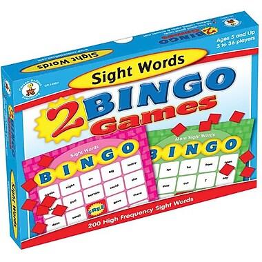 Carson-Dellosa Sight Words Bingo Board Game