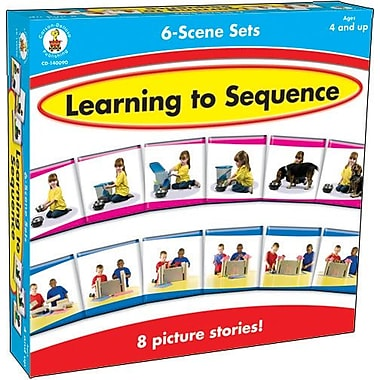 Carson-Dellosa Learning to Sequence 6-Scene Board Game