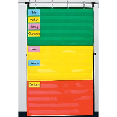 D.J. Inkers Adjustable Pocket Chart Pocket Chart