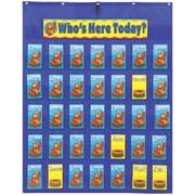 Carson Dellosa Attendance/Multiuse Pocket Chart by