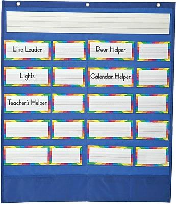 Carson-Dellosa Classroom Helpers Pocket Chart, All Grades