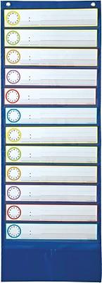 Carson-Dellosa Deluxe Scheduling Pocket Chart