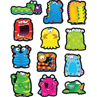 Carson-Dellosa Monsters Shape Stickers