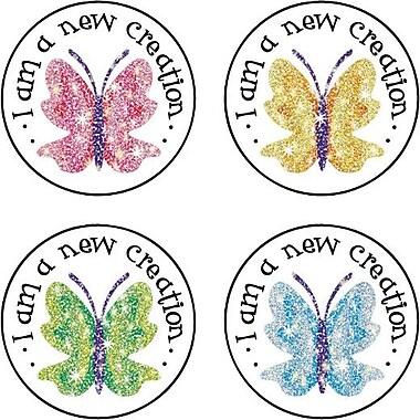 Carson-Dellosa Butterflies Dazzle™ Stickers, 120 Stickers per pack