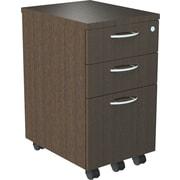 """Alera® SedinaAG 20""""D 3 Drawer Mobile Box/Box/File Pedestal, Espresso"""