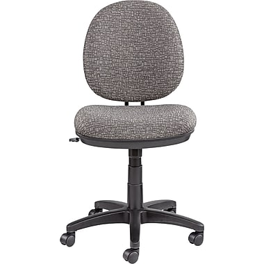 Alera ALEIN4841 Interval Acrylic Armless Task Chair, Graphite Gray