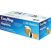 EasyNap® Paper Dispenser Napkin, 1-Ply, White, 2,500/Case