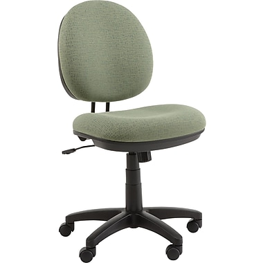 Alera ALEIN4871 Interval Acrylic Armless Task Chair, Parrot Green