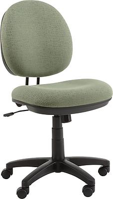 Alera ALEIN4871 Interval Acrylic Armless Task Chair, Parrot Green