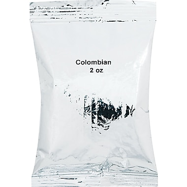 Distant Lands Colombian De Jardin Ground Coffee, Regular, 2 oz., 40 Packets
