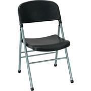 COSCO Bridgeport™ Endura™ Molded Folding Chair, Black