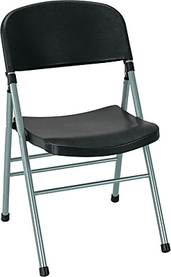 COSCO Bridgeport™ Endura™ Molded Folding Chair, Black