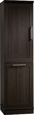 Sauder® HomePlus Storage Cabinet With Tilt-Out Door, 2 Shelf, Dakota Oak, 71 1/8