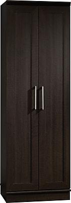 Sauder® HomePlus Storage Cabinet With 2 Doors, 4-Shelf, Dakota Oak, 71 1/8