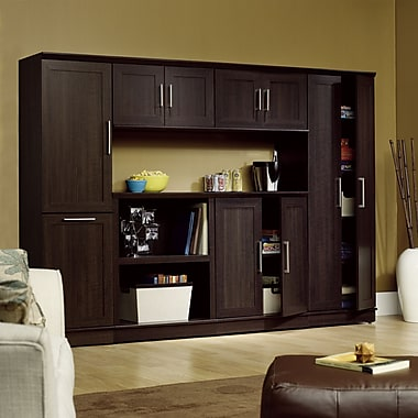 Sauder Home Plus Entertainment Collection, Dakota Oak