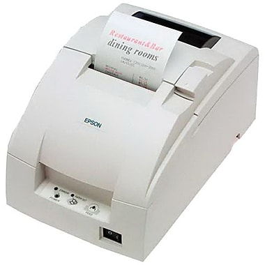 Epson® TM-U220D ECW 4.7/6 lps At 40/30 Columns USB 9 Pin Serial Impact Dot Matrix Receipt Printer