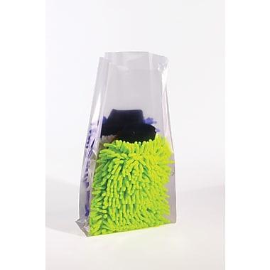 Sacs en polyéthylène à soufflets de 1 mil, 6 po x 3 po x 18 po, 1 000/paquet