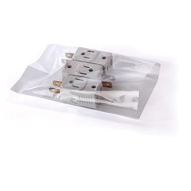 Sacs transparents à plat sur un rouleau, 12 po x 20 po