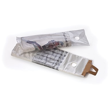 Clear High Density Newspaper Bags 0.4 mil, 7.5x21, 2000/Case