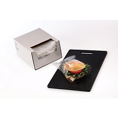 Clear Sandwich Bags in Dispenser Box 0.75 mil, 7x7
