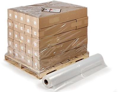 Staples Pallet Size Shrink Bags on Rolls, 50x44x57