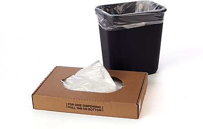 Clear LLDPE Liners 0.58 mil, 15x9x31
