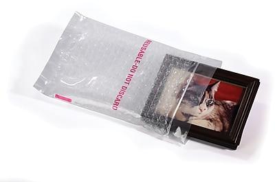 Clear Bubble Reclosable Bags, 4x6, 50/Case