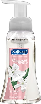 Softsoap® Pampered Hands™ Foaming Hand Soap, Jasmine Oasis, 8 oz.