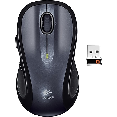 Logitech M510 Wireless Mouse, Black (910-001822)
