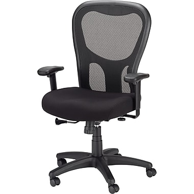 tempur-pedic mesh chair, highback, black | staples