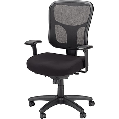 tempur-pedic mesh chair, mid-back, black | staples