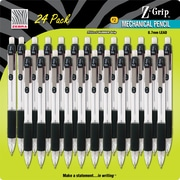 Zebra® Z-Grip® Mechanical Pencils, .7mm, Black, 24/Pack