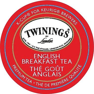 Keurig - Thé Twinings of London Tea, contenants K-Cup, mélange pour le petit déjeuner